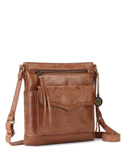 The Sak Ventura Flap Leather Crossbody