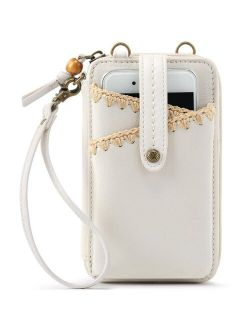 Iris North South Leather Smartphone Crossbody