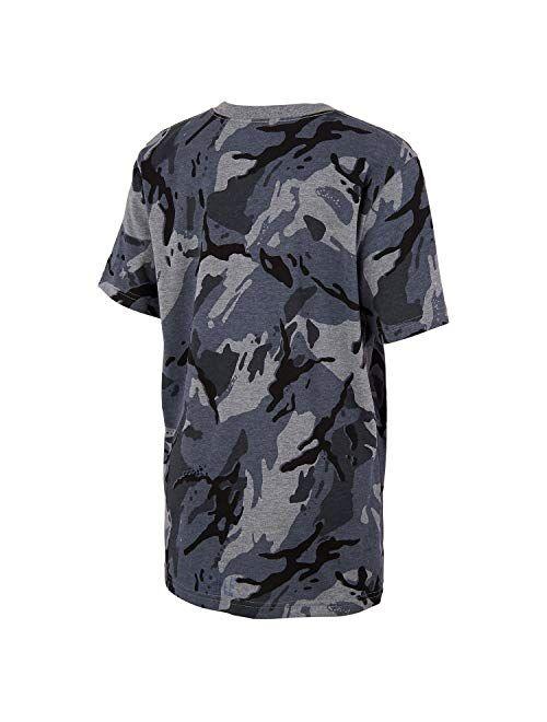 Buy adidas Boys' Short Sleeve Cotton Jersey Logo T-Shirt Tee ...