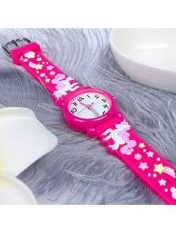 Dodosky Unicorn Gift for Girls Age 3 4 5 6 7 8 9 10, Outdoor Toys Watches for Kids 4-10 Year Old - Best Gift