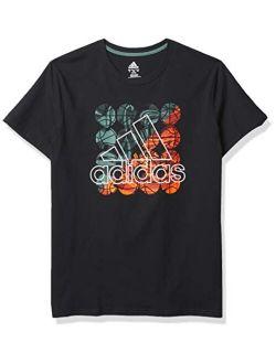 Boys' Short Sleeve Cotton Jersey Logo T-shirt