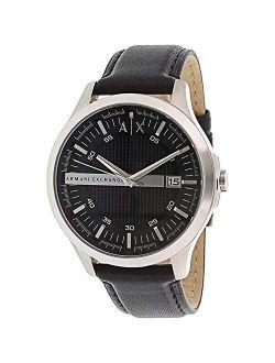Ange Men's Black Dial Watch