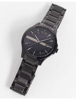Ax2104 Hampton Bracelet Watch In Black