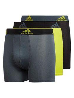Boy's Performance Boxer Briefs Underwear (3-pack)