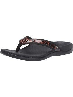 Women's Tide Ii Toe Post Sandal - Ladies Flip Flop With Concealed Orthotic Arch Support