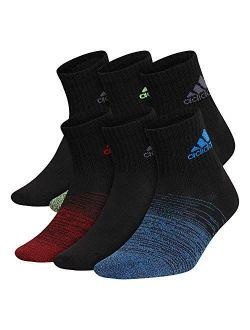 Boys Kids-boys/girls Superlite Quarter Socks (6-pair)