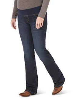 Women's Retro Mae Maternity Boot Cut Jean