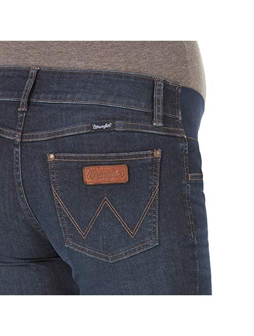 Wrangler Women's Retro Mae Maternity Boot Cut Jean