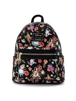 X Disney Alice In Wonderland Aop Allover Print Mini Backpack