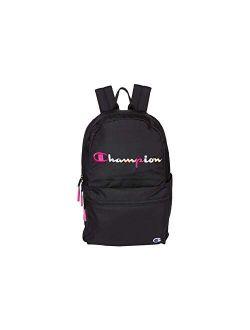 Unisex Adult Billboard Backpack, Black/pink, One Size Us