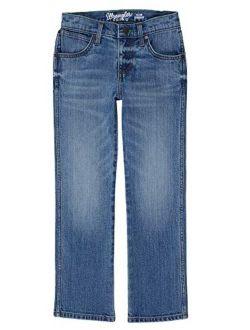 Big Boys' Retro Slim Fit Straight Leg Jean