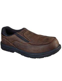 - Mens Double Gore Slip On W/moc Toe Shoe