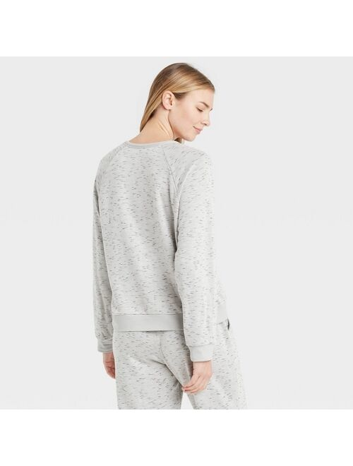 Women's Two-Toned Fleece Lounge Sweatshirt - Stars Above™