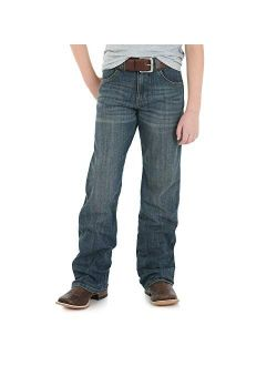 Boys' Retro Relaxed Fit Boot Cut Jeans, Falls City, 2t Slim