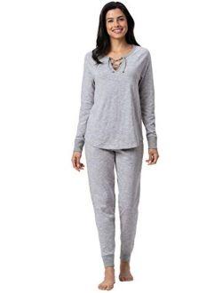 Addison Meadow Women knitted lounge Pajama set