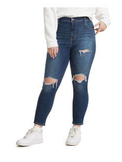 Checks & Balances Distressed 720™ High-Waist Super Skinny Jeans - Women