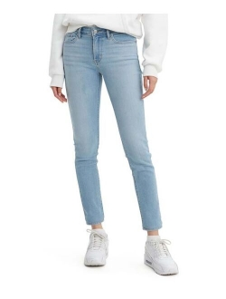 Light Indigo Sidetracked 711 Skinny Jeans - Women