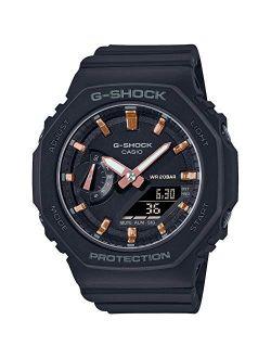 G-Shock Women's GMAS2100-1A Watch, Black, One Size