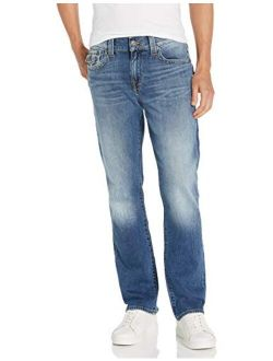 Men's Ricky Low Rise Straight Leg Jean With Back Flap Pockets