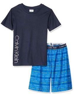 Boys' 2 Piece Sleepwear Top And Bottom Pajama Set Pj