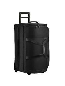 Baseline-softside Large Upright Rolling Duffle Bag, Black, 29-inch