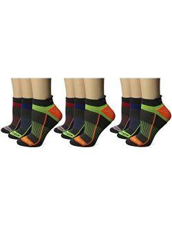 Women's Inferno Tab Socks, Medium/7-10 Shoe, 9 Pair