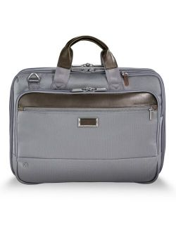 Men's Nylon Solid Work Medium Briefcase and Laptop Bag