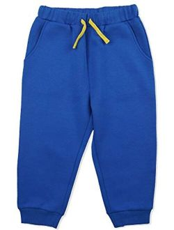Kids Unisex Sport Fabric Cropped Pants With Pockets Athletic Jogger Pants For Boys And Girls 4-12 Years