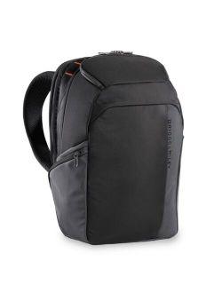 ZDX Men's Nylon Solid Adjustable Cargo Backpack