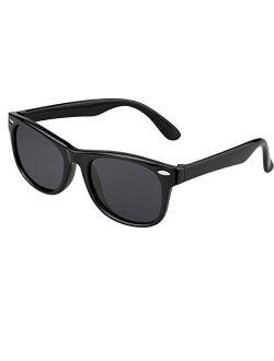 Kids Sunglasses Polarized UV Protection Trendy Sun Glasses Toddler Boys Girls
