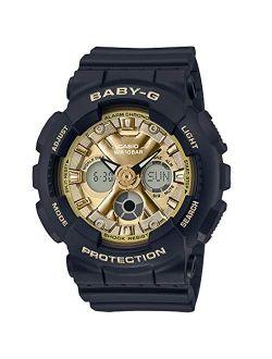 Ba130-1a3 Baby-g Women's Watch Black 46mm Resin