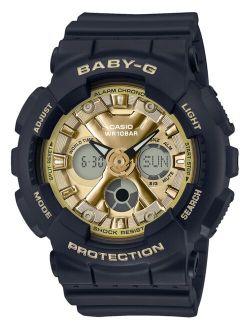 Baby-G Women's Analog-Digital Black Resin Strap Watch 43.3mm