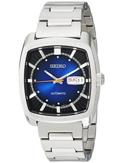 Men's Recraft Series Automatic-self-wind Watch With Stainless-steel Strap, Silver, 21 (model: Snkp23)