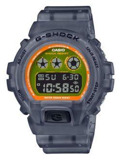 G-Shock Men's Digital Frosted Black Resin Strap Watch 50mm