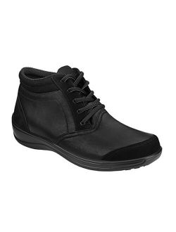 Proven Bunions, Plantar Fasciitis Relief. Extended Widths. Arch Support Orthopedic Diabetic Women's Bootie Milan Boots