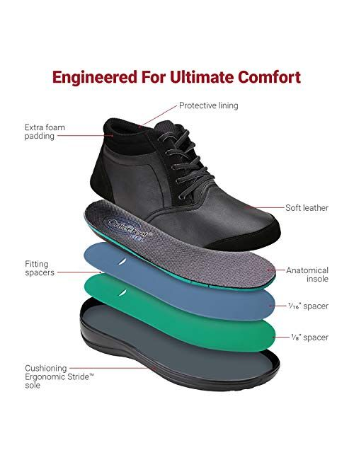 Orthofeet Proven Bunions, Plantar Fasciitis Relief. Extended Widths. Arch Support Orthopedic Diabetic women's Bootie Milan Boots