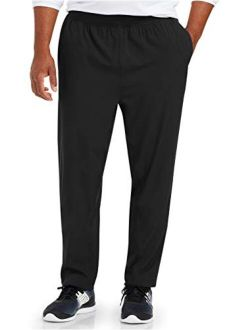 Men's Big & Tall Stretch Woven Training Pant Fit By Dxl