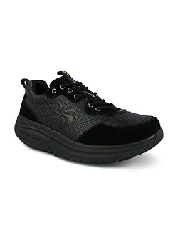 Men's Gdefy Shaxon Athletic Shoes - Hybrid Versoshock Proven Performance Shock-absorbing Leather Pain Relief Shoes