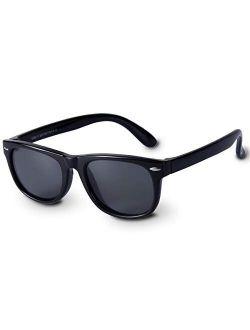 Boys Sunglasses Kids Sunglasses for Kids Polarized Resin Frame Sunglasses Boys By ZIRANYU