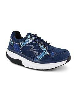 Women's G-defy Silvanit Athletic Shoes - Hybrid Versoshock Proven Performance Shock-absorbing Leather Pain Relief Shoes
