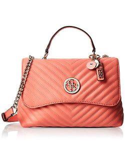 Women's Blakely Top Handle Flap Top-handle Bag - Coral