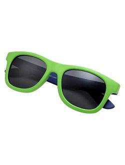 grinderPUNCH KIDS Children's Super Flexible Polarized Sunglasses