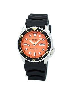Mens Analog Sport Automatic Seiko Watch Skx011j1