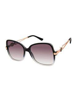 J5974 Stylish Uv Protective Butterfly Logo Sunglasses   Wear All-year   Glam Gifts For Women, 54 Mm