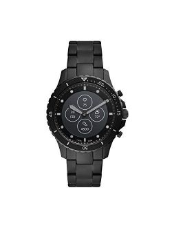 Men's Fb-01 Dive-inspired Hybrid Smartwatch Hr With Always-on Readout Display, Heart Rate, Activity Tracking, Smartphone Notifications, Message Previews