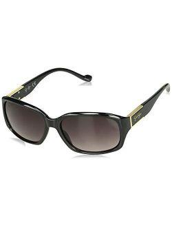 Women's J5555 Rectangular Sunglasses With 100% Uv Protection, 70 Mm