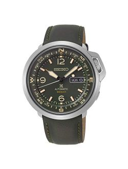 Prospex Automatic 20 Bar Land Series Compass Green Leather Sports Watch Srpd33k1