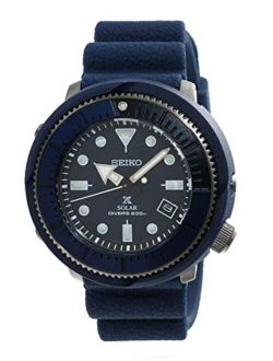 Prospex Street Sports Solar Diver's 200m Blue Dial With Silicone Band Watch Sne533p1