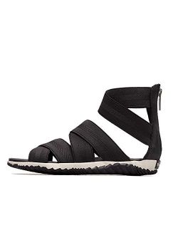 Women's Leather Out 'n About Plus Sandals Green