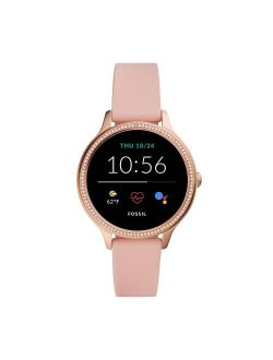Women Gen 5E FTW6066 Smartwatch 42mm - Rose Gold-tone With Blush Silicone